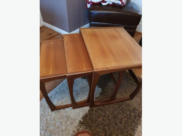 G PLAN VINTAGE NEST OF TABLES IN MINT CONDITION