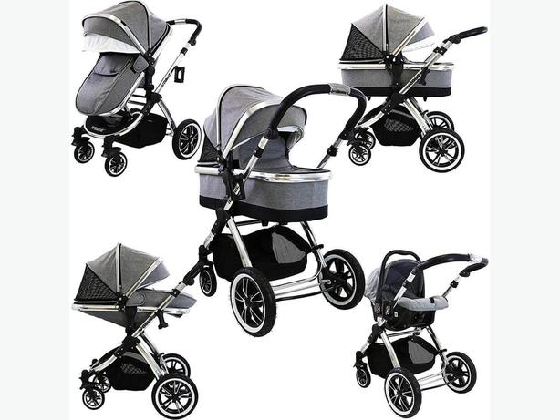 Ivogue 3 in 1 travel system pushchair