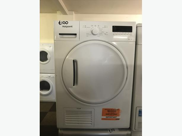 HOTPOINT DRYER 8KG WITH GUARANTEE