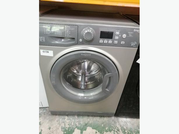 Hotpoint 1-7kg washing machine with warranty at Recyk Appliances