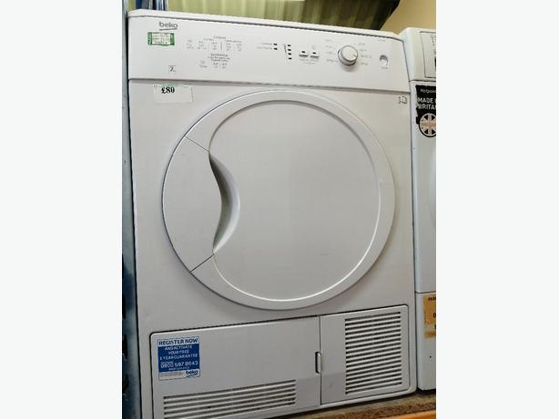 Beko condenser dryer 7kg with warranty at Recyk