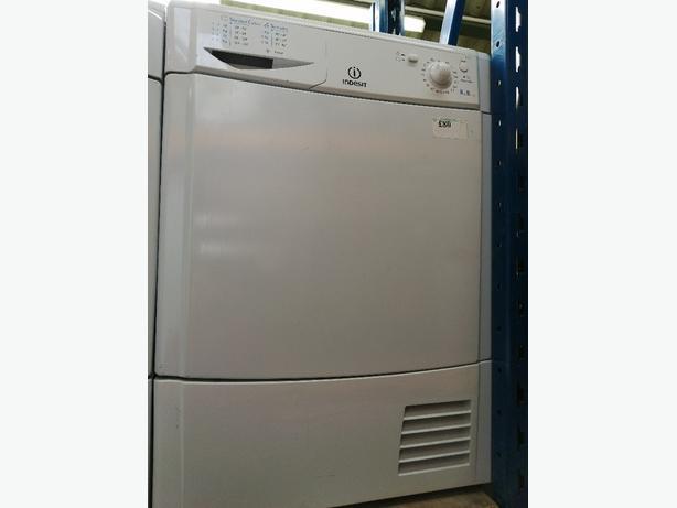 Indesit condenser dryer 8 kg with warranty at Recyk Appliances