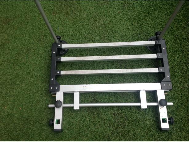 Seat box foot plate