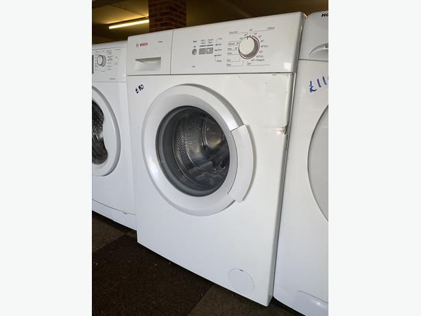 PLANET APPLIANCE -  6KG WHITE BOSCH WASHER WASHING MACHINE