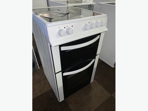 PLANET APPLIANCE -  50CM WHITE LOGIK ELECTRIC COOKER
