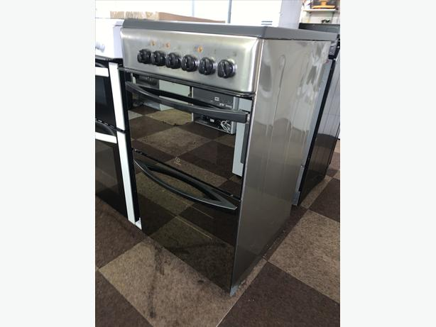 PLANET APPLIANCE - 50CM SILVER INDESIT ELECTRIC COOKER W WARRANTY