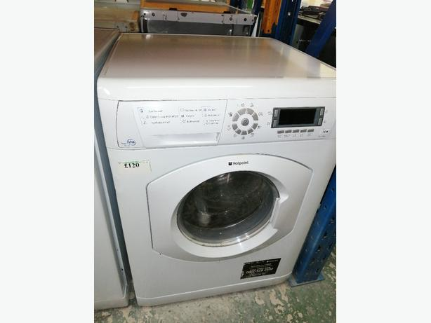 FOR TRADE: Hotpoint washing machine 8kg with warranty at Recyk