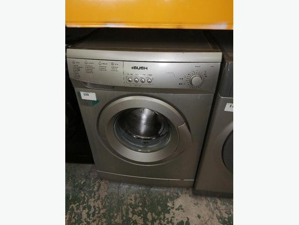 Bush washing machine 6 kg with warranty at Recyk Appliances