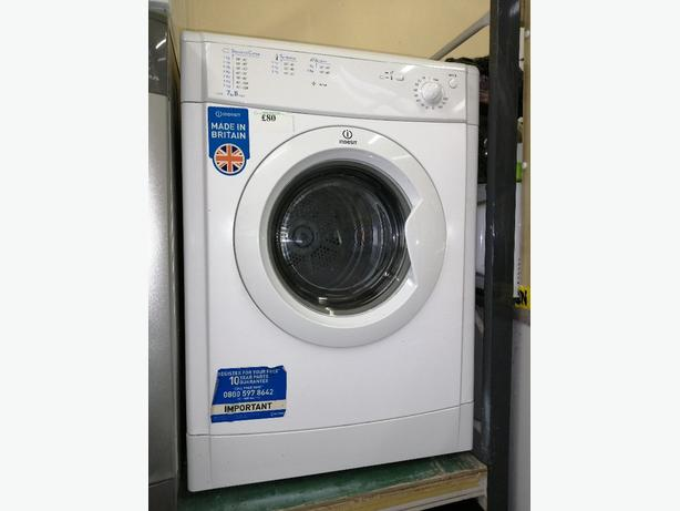 Indesit vented dryer 7 kg with warranty at Recyk