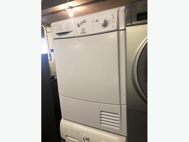 INDESIT 8KG LOAD CONDENSER TUMBLE DRYER WITH GUARANTEE 🇬🇧🇬🇧
