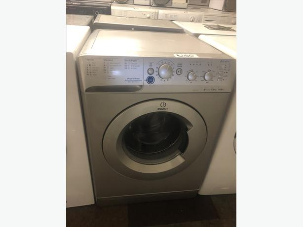 7KG SILVER INDESIT INNEX WASHER /WASHING MACHINE WITH GUARANTEE