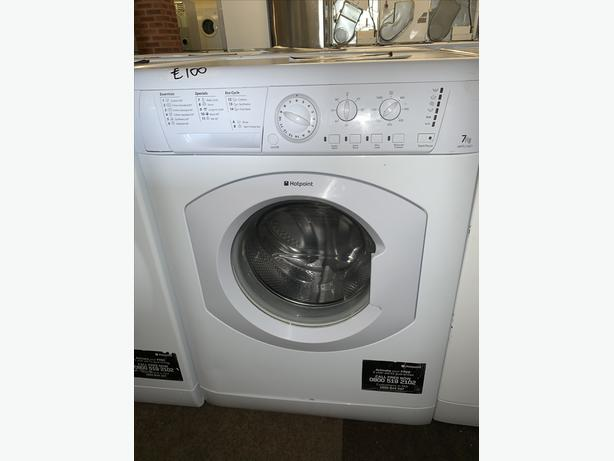 PLANET APPLIANCE - 7KG HOTPOINT WASHER WASHING MACHINE WITH GUARANTEE