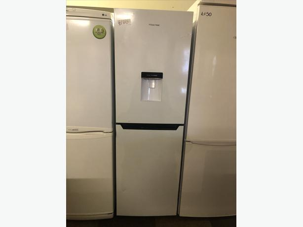 SALE PRICE ! - HISENSE FRIDGE FREEZER IN GREAT CONDITION WITH GUARANTEE