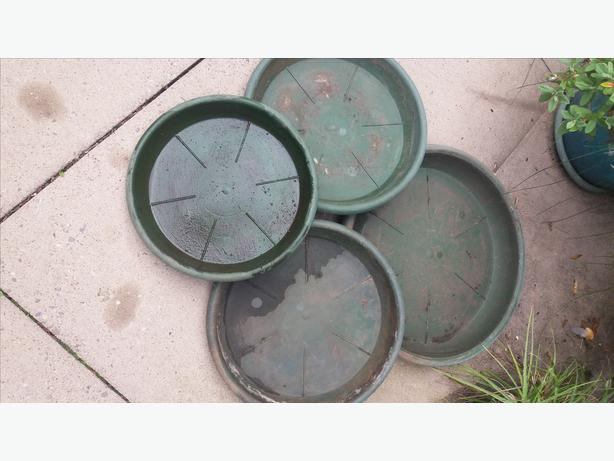 4 Plant Saucers