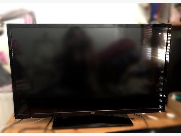 bush 32 inch hd led tv+built in dvd player+freeview+remote+DELIVERY