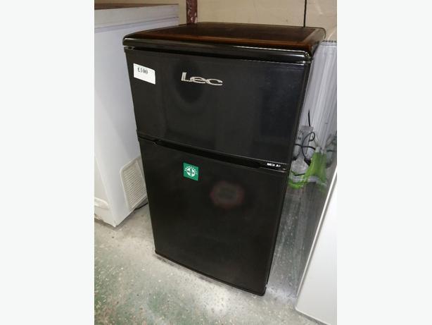 Lec mini fridge freezer with warranty at Recyk Appliances