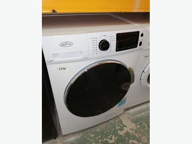 Belling washing machine 7kg A+++ with warranty at Recyk Appliances