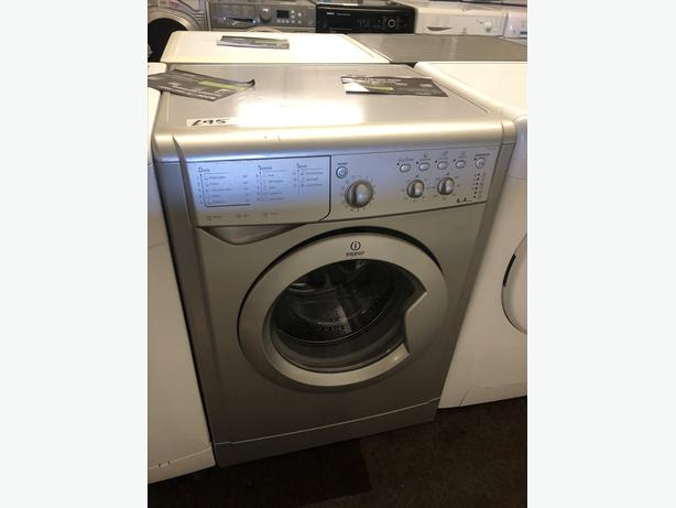 PLANET 🌍 APPLIANCE- SILVER WASHER/WASHING MACHINE WITH GUARANTEE 🇬🇧🇬🇧🇬🇧