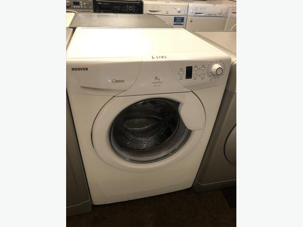 PLANET 🌎 APPLIANCE- HOOVER WHITE 7KG WASHER//WASHING MACHINE WITH GUARANTEE 🇬🇧🇬🇧
