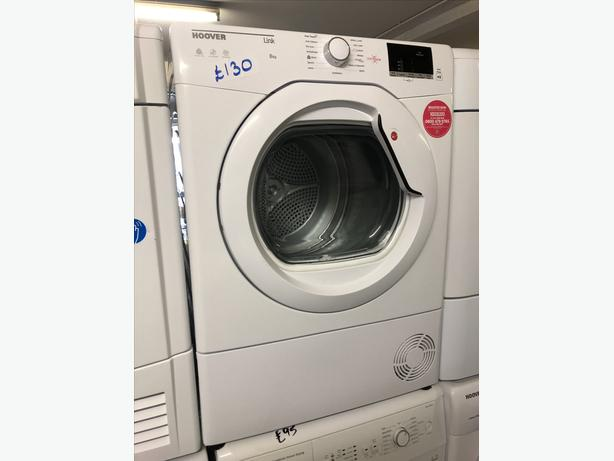 PLANET 🌍 APPLIANCE- HOOVER 8KG CONDENSER DRYER WITH GUARANTEE 🇬🇧🇬🇧
