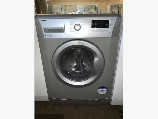 PLANET APPLIANCE - 6KG SILVER BEKO WASHER WASHING MACHINE