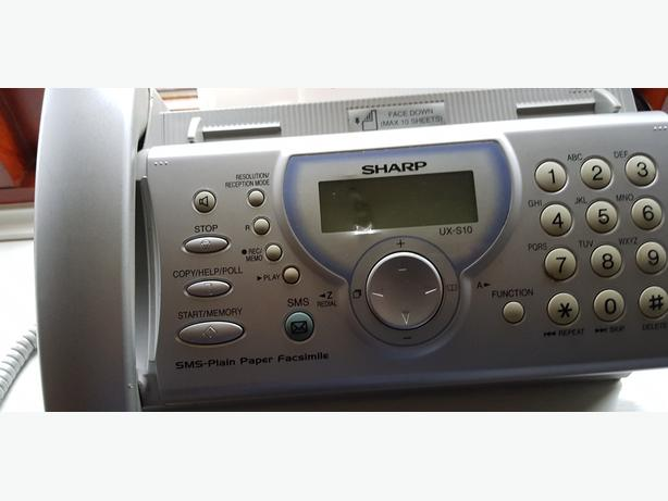 Classic SHARP UX-S10 Telephone - Answering - Fax Machine