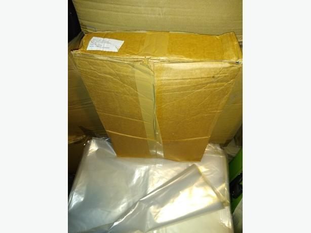 50 Large Clear Polythene Plastic Bags 400x700x1500mm