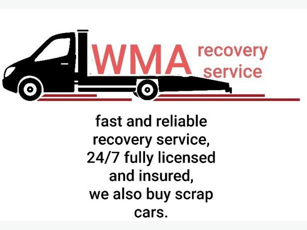 RECOVERY SERVICE & SCRAP CAR COLLECTION