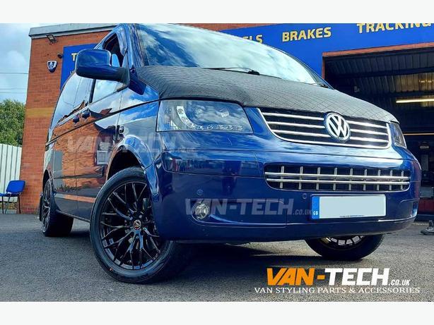 VW T5 T5.1 T6 T6.1 Wolfrace Wolfsburg 20″ Alloy Wheels Gloss