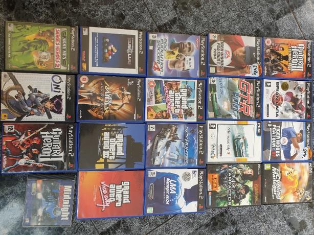 20 play station games joblot.