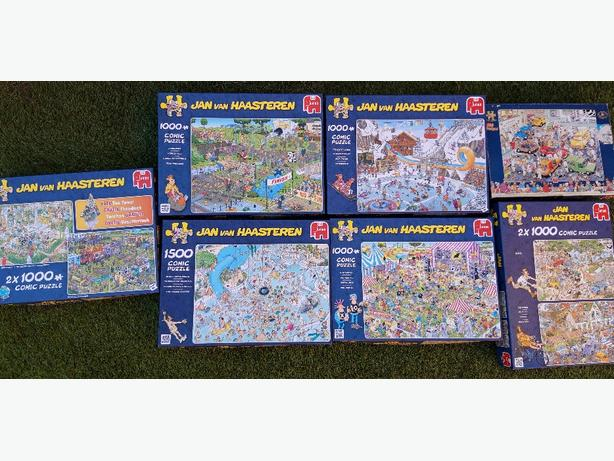 jigsaws - comic puzzles