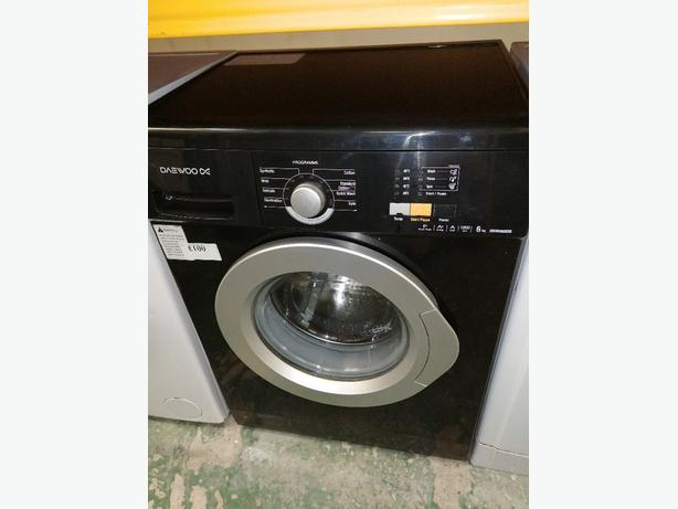 Daewoo 6 kg washing machine with warranty at Recyk Appliances