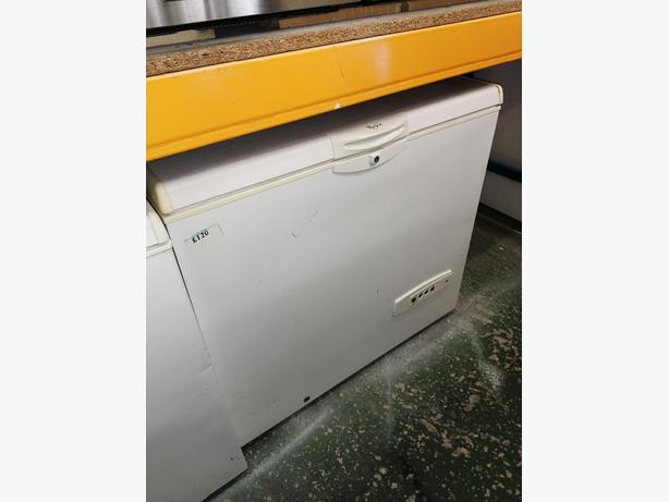 Whirlpool chest freezers white with warranty at Recyk Appliances