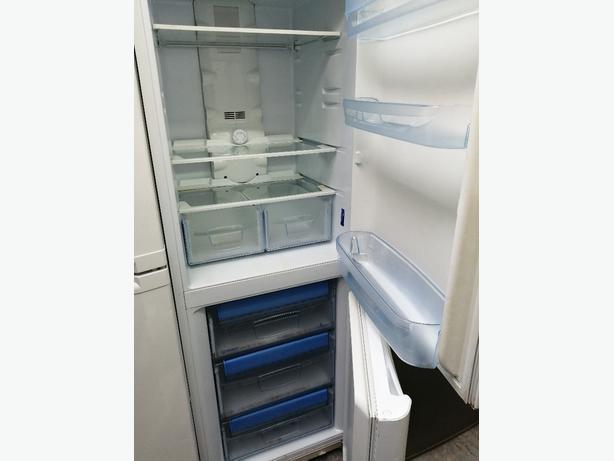 Indesit fridge freezer with warranty at Recyk Appliances