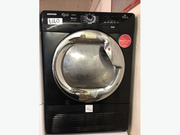 HOOVER 8KG LOAD CONDENSER TUMBLE DRYER WITH GUARANTEE 🇬🇧🇬🇧
