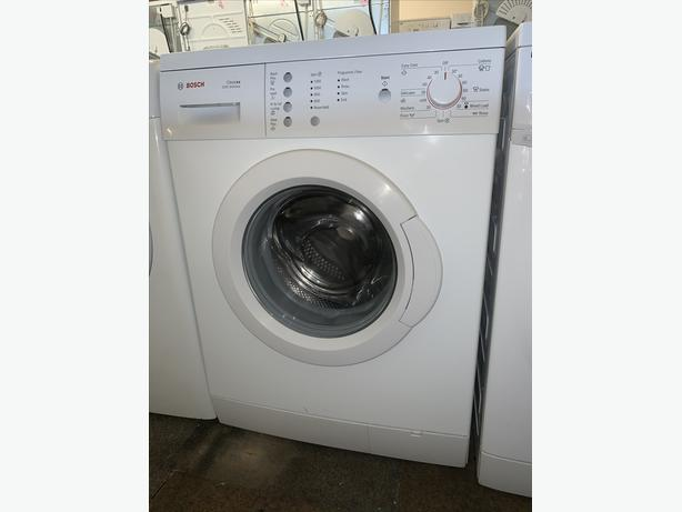 PLANET APPLIANCE - WHITE BOSCH WASHER WASHING MACHINE WARRANTY ALL IN
