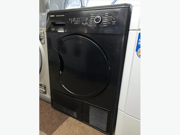 PLANET APPLIANCE - 7KG BLACK CONDENSER DRYER ALL IN WARRANTY