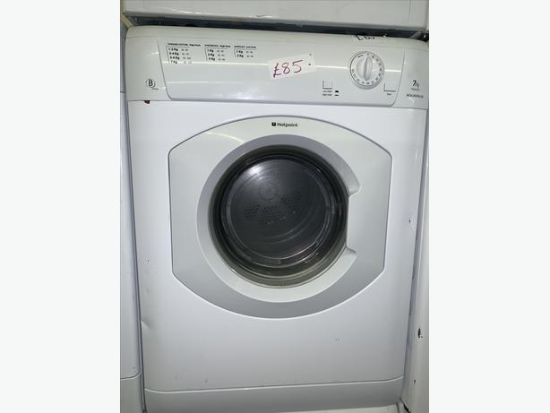 PLANET APPLIANCE -7KG HOTPOINT VENTED DRYER WITH WARRANTY ALL IN