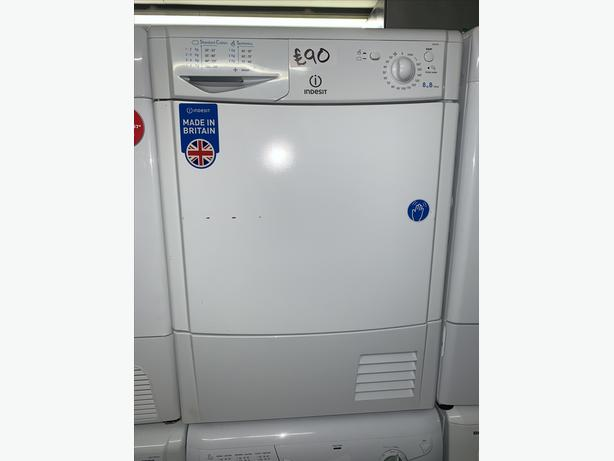 PLANET APPLIANCE - 8KG INDESIT CONDENSER DRYER