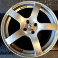 """Set of 17"""" TSR Alloy Wheels for sale 4x100 will fit Vauxhall and Rovers"""