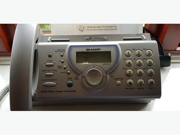 SHARP - UX-10 - Telephone - Fax - Answering Machine in Good Condition