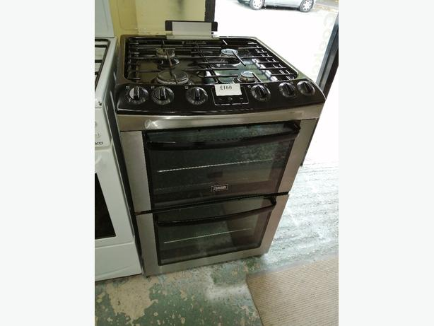 Zanussi gas cooker 60 cm with warranty at Recyk Appliances