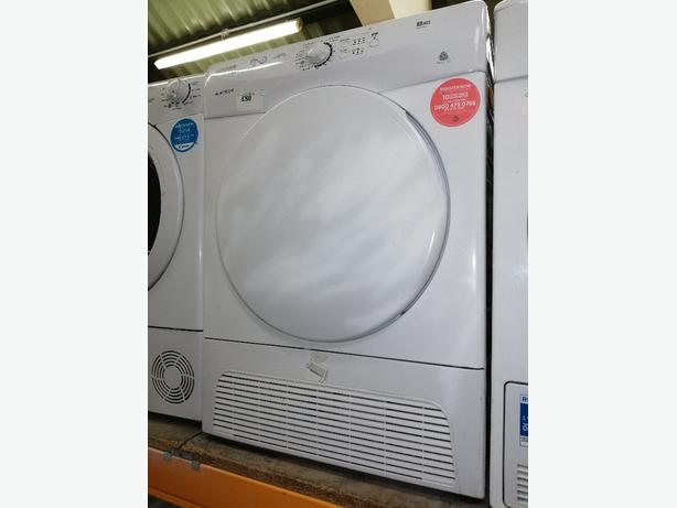 Hoover condenser dryer 8kg with warranty at Recyk Appliances