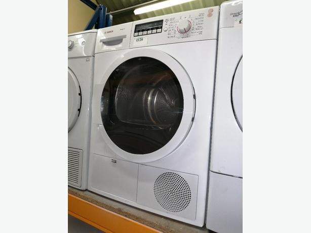 Bosch condenser dryer 8kg with warranty at Recyk Appliances