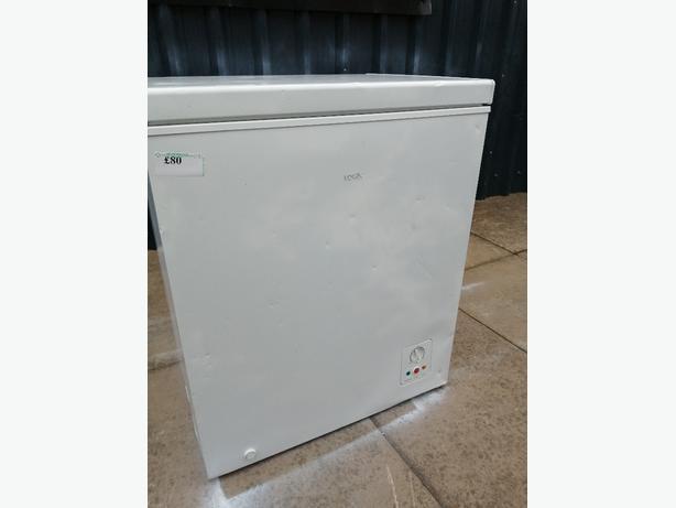 Logik chest freezer with warranty at Recyk Appliances