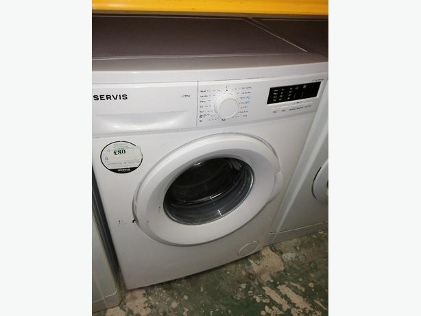 Servis 7kg washing machine with warranty at Recyk Appliances