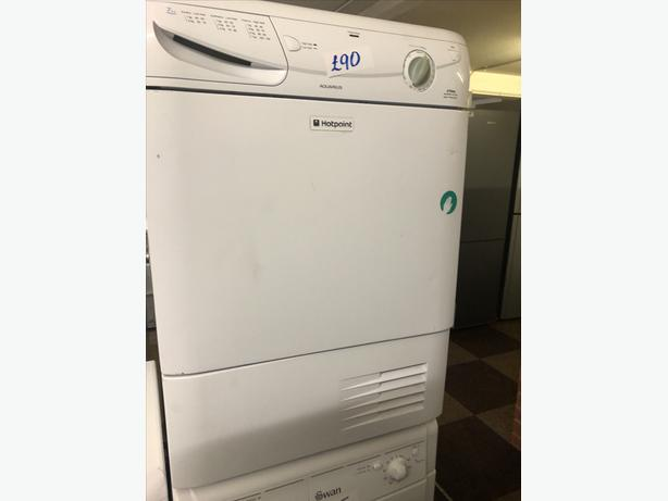 PLANET 🌍 APPLIANCE- 7KG LOAD HOTPOINT CONDENSER DRYER WITH GUARANTEE