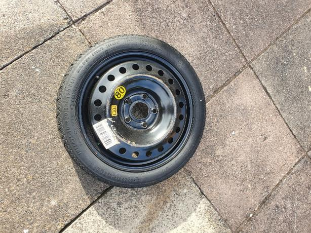 vauxhall insignia spare wheel & jack