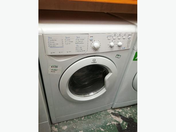 Indesit 6+5 kg washer dryer with warranty at Recyk Appliances