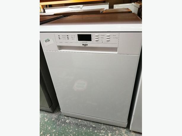 Bush dishwasher white with warranty at Recyk Appliances 🇬🇧